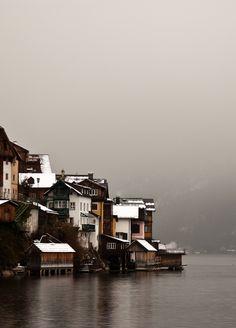 #snow #city #village