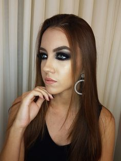 Olhos super marcantes. Make by me 👄