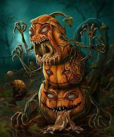 Photo Halloween, Halloween Scarecrow, Halloween Artwork, Halloween Prints, Halloween Pictures, Halloween Horror, Halloween Pumpkins, Scary Halloween Drawings, Happy Halloween