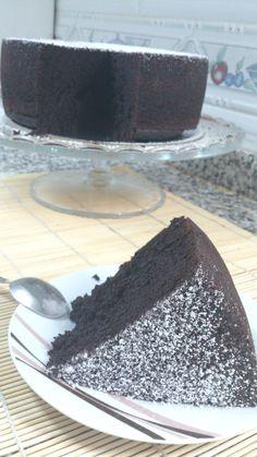 Bizcocho de doble chocolate de Miette
