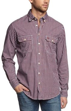 Camel Active Men's  Button down Long SleeveCasual Shirt on shopstyle.co.uk