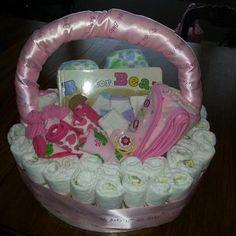 diaper gift basket idea