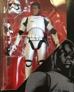 Star Wars Black Series TFA Finn Stomtrooper