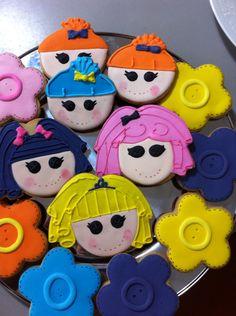 Lallalloopsy biscoitos decorados by Vovi's Biscoiteria 51 35882457 www.facebook.com.br/vovisbiscoiteria