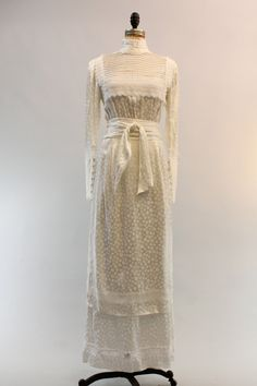 80s Gunne Sax Wedding Dress Small / 1980s Lace by CrushVintage