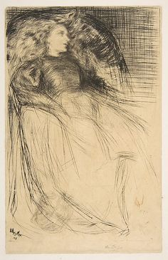 James McNeill Whistler (1834–1903) Weary, 1863