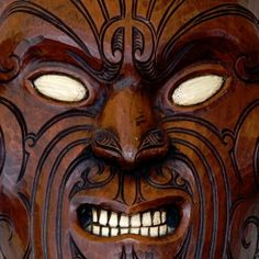 masks of new zeland | New Zealand. The Maori are the native people of New Zealand. This mask ...