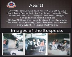 Delhi on high alert after Pathankot taxi driver found dead