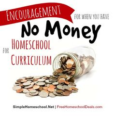 What if you have no extra money for homeschooling? Take heart! Help is here! This is how I learned to homeschool on a [really] tight budget.