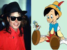 Pinocchio, l'autre personnage auquel s'identifiait Michael Jackson