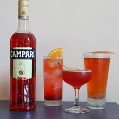 3 Campari Cocktails that Go Beyond a Basic Negroni