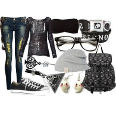 """Untitled #334"" by littlemisstoxin on Polyvore"