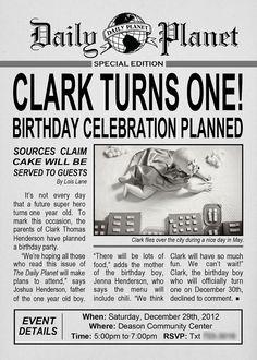 newspaper birthday invitation template koni polycode co