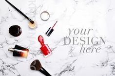 Woman Marble Background mockup by Kristina&Co on @creativemarket