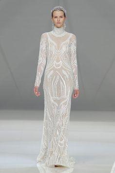 Naeem Khan. Credits: Barcelona Bridal Fashion Week