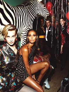 'La Secret Party' by Mert & Marcus for W Magazine September 2015 - Page 2 | The Fashionography