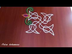 Very Simple and Easy kambi Kolam. - YouTube