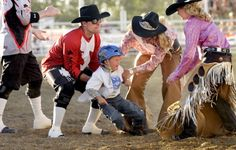 Rodeo is rough stuff!