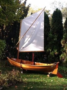 Skerry Chesapeake Light Craft 15' Skerry Sail and Row Faering-inspired Boat