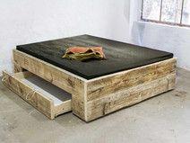 Jugendbett 140x200 mit stauraum  Bett selber bauen | Bett kaufen, Lattenrost und Selbst bauen