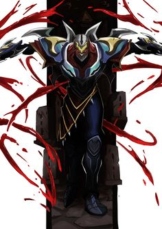 Zed by kathan on DeviantArt