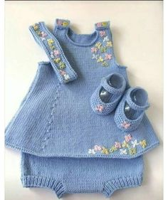 Baby All-In-One Knitting Patte