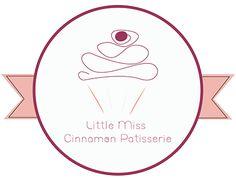 Little Miss Cinnamon Patisserie Logo Design Little Miss, Bakery Logo Design, New Work, Behance, Logos, Logo