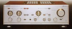 """"""" LUXMAN L-510 from 1981 """"  - One Of My Elected High-End Amplifiers...A Masterpice !   http://about.me/Samissomar"""
