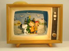 vintage music box tv