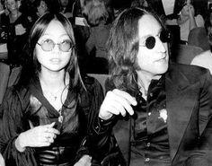 * John Lennon and May Pang *