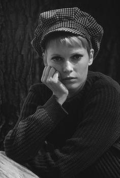 Mia Farrow, 1969 by Terry O'Neill