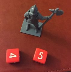 MB 13 Dead End Drive Board Game Knight Statue Dice Replacement Parts Vintage Lot #MiltonBradley