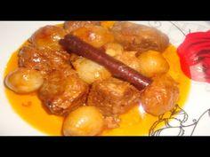 Στιφάδο Παραδοσιακό της Γιαγιάς - Τraditional grandma's stew //Stella Love Cook - YouTube Chicken Wings, Sausage, Meat, Youtube, Food, Sausages, Essen, Meals, Youtubers