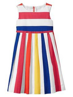 Dresses: The number one best thing about having a little girl. (Two-way stripe dress | Gap)