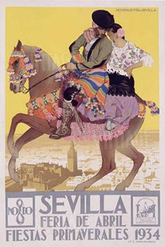Fiestas de Primavera 1934 ~ Sevilla ~ Seville _____________________________ Espagne ~ España ~ Spain