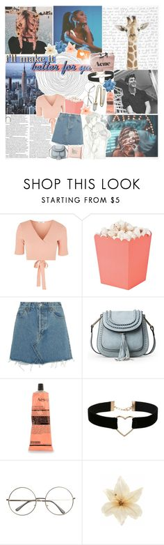"""""""if i pulled you closer, would you mind?"""" by alessia-xcx ❤ liked on Polyvore featuring Glamorous, RE/DONE, Aesop, Miss Selfridge, Clips, The Body Shop, Lacey Ryan, polyvoreeditorial and magazineset"""