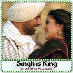 Teri Ore (With Male Vocals) - Singh is King - Shreya Ghoshal, Rahat Fateh Ali Khan