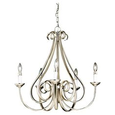 I pinned this Large Dover Chandelier from the Kichler event at Joss and Main!