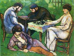 The Chess Game - Duchamp