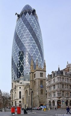 The Gherkin, City of London