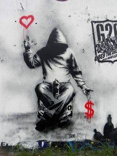 Amsterdam: nuovo pezzo dello street artist francese Goin.