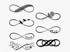 tatuagens no pulso femininas simbolo do infinito - Pesquisa Google
