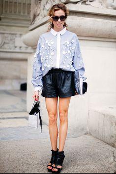 Paris chic fashion inspiration.