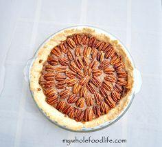 Grain Free Pecan Pie