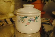 RARE Christopher Stuart Sugar Bowl by TheBouncingFrogs on Etsy