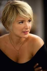 Image result for brown pixie cut