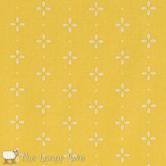 37105 5 Yellow  Small Petal from Windham Fabrics Wallflowers