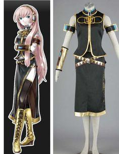VOCALOID Megurine Luka 7-piece Anime Cosplay Costumes #Vocaloid #anime #cosplay costume