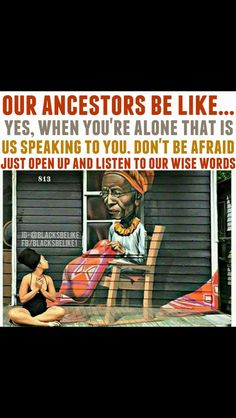 Ancestors are speaking. My Black Is Beautiful, Black Love, Black Art, We Are The World, In This World, Moslem, By Any Means Necessary, Black History Facts, African American History