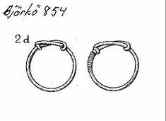 Birka BJ854   Bronze rings Viking Metal, Swedish Fashion, Bronze Ring, Viking Jewelry, Victorian Jewelry, Metal Working, Jewelry Crafts, Glass Beads, Silver Jewelry